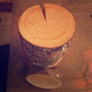 Set of 12 Wood Slabs